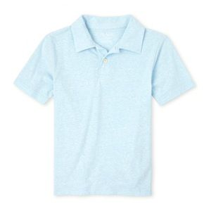 NWT Children's Place Cloud Blue Polo Shirt S(5/6)